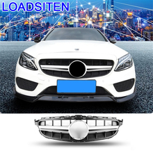 Automobile Mouldings Accessory Styling Parts Exterior Car Accessories Racing Grills FOR Mercedes Benz C Class