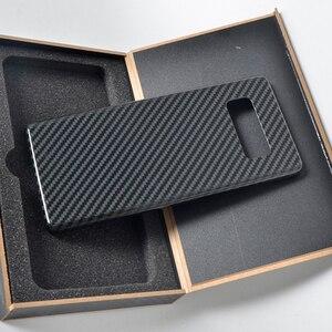 Image 2 - Кевларовый чехол для телефона samsung s10 из настоящего углеродного волокна Galaxy s10 plus из чистого углеродного волокна матовый Легкий Простой деловой персональный