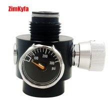 منظم البندقية Airsoft BB لبندقية Co2 و HPA التحكم في الضغط قابل للتعديل 0 200psi
