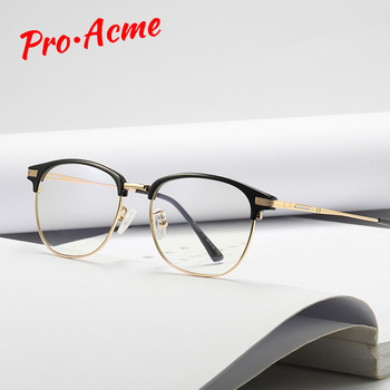 Pro Acme TR90 Blue Light Blocking Glasses/Blue Glasses Women/Computer Gamer Glasses/Anti Radiation Screen PB1207 - discount item  35% OFF Eyewear & Accessories