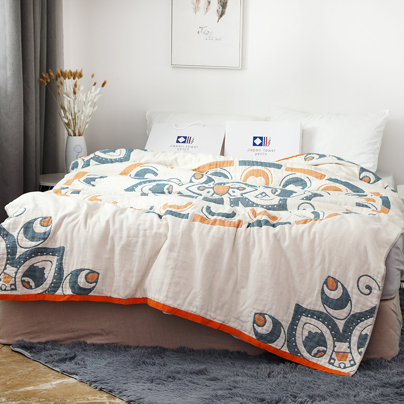 High quality Nap blanket Home bedding 100% soft cotton towelling coverlet|Throw| |  - title=