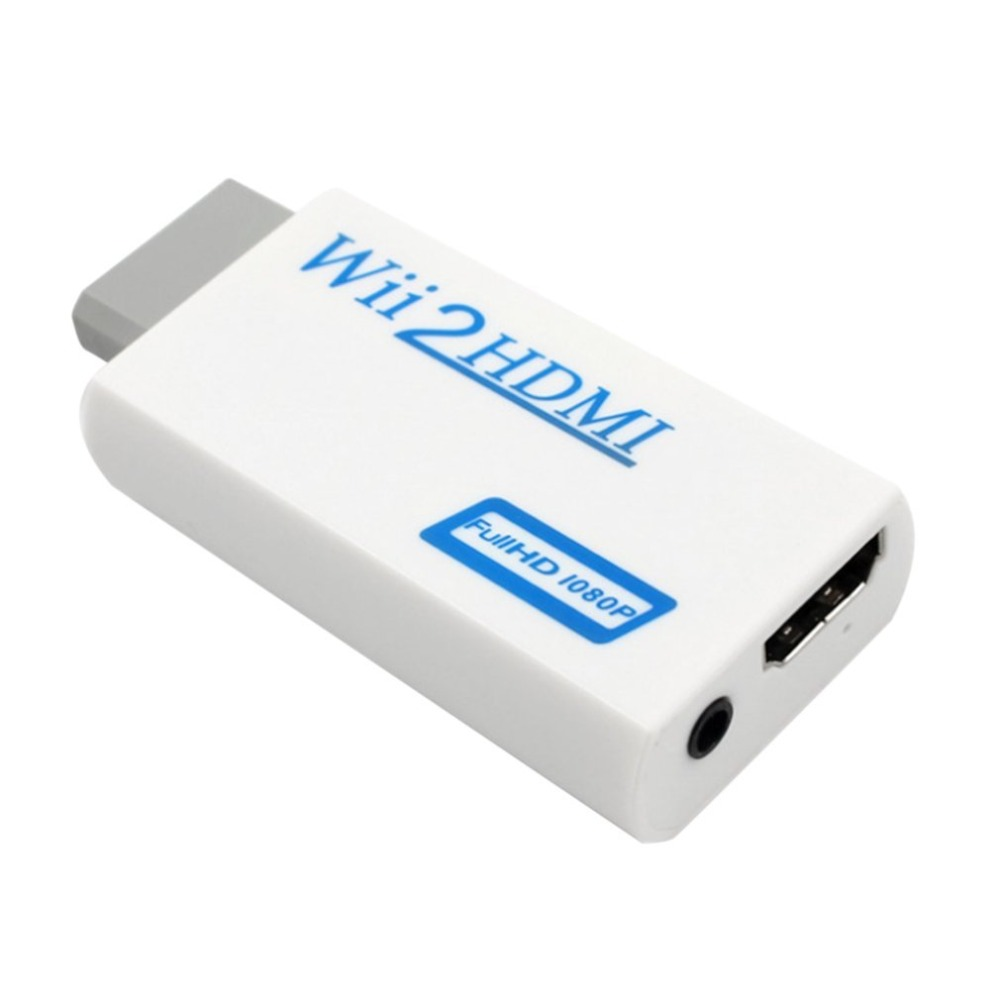 For Wii To HDMI Converter Transformed For Wii To HD-TV/HD-Projector 720p/1080P Video Audio In Full Digital HDMI 720p 1080p
