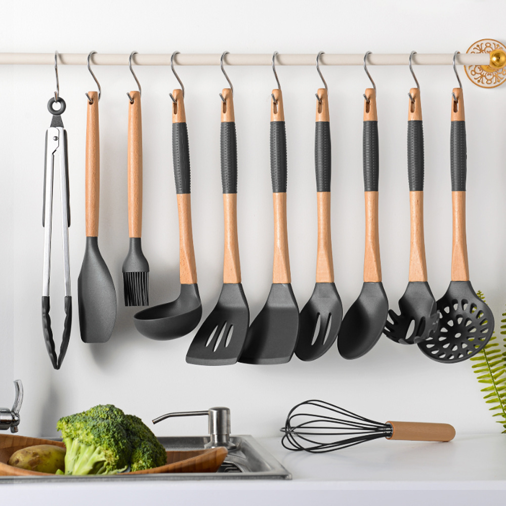 10pcs / Set Metal Shaped S-Hooks Kitchen Storage Containers And Holder Hook Stainless Steel Kitchenware S-type Hook Kitchen Tool