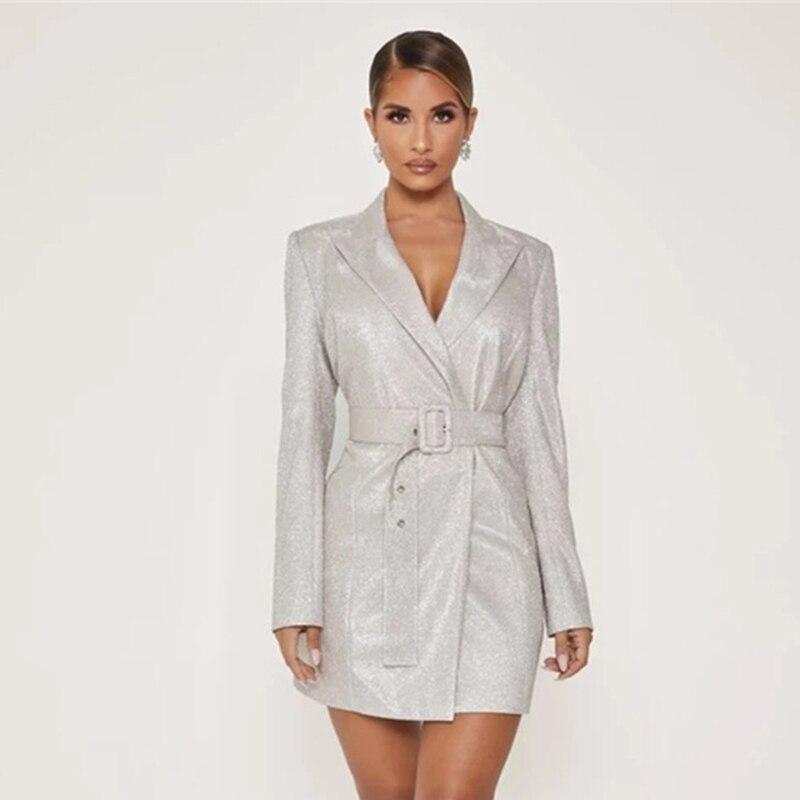 Slash Business Jacket|Long Sleeve Blazer Coat