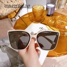 2021 carré lunettes De Soleil Femme De luxe marque voyage surdimensionné lunettes De Soleil hommes femmes Vintage Oculos Lunette De Soleil Femme UV400