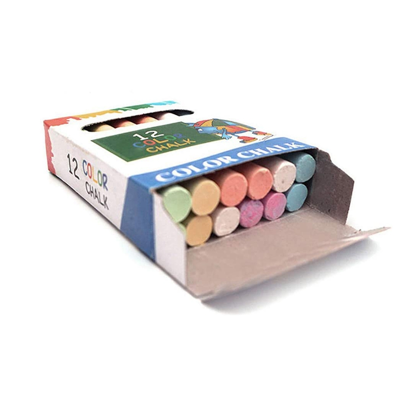 360Pcs Dustless White Drawing Chalk for School Education Chalks High Quality Stationary Office Supplies Marker