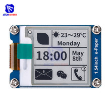 Diymore Módulo de papel electrónico de 1,54 pulgadas, interfaz SPI de pantalla de tinta electrónica 200*200 para Raspberry Pi Arduino STM32