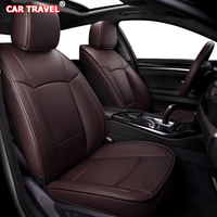 Make Custom Leather car seat cover set For Haima Freema Family M8 3 V70 F7 S6 M3 M6 Automobiles Seat Covers