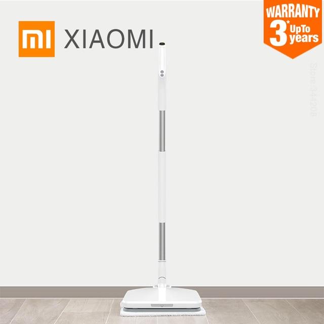 $ US $122.92 2019 New XIAOMI MIJIA SWDK D260 Electric Mopping For home Handheld Wireless Wiper Floor Window Washers Wet broom Vacuum Cleaner