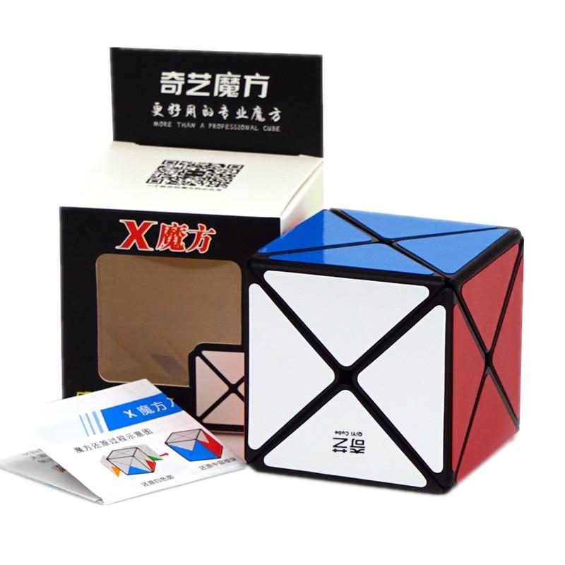 Qiyi X-shaped 2x2 Magic Cube Twist Puzzle Professional 2x2x2 X Shape Mofangge Cube Puzzle Educational Cubo Magico Classical Toys