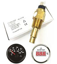 Pack of 1 3/8-18NPT Electrical Sender Water Temp Sensor for Auto Boat Water Temperature Gauge with 96 Degree Alarm Temp auto sensors water temp switch for audi automotive temperature sensor 059 919 501 078 919 501b