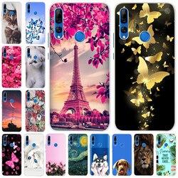 На Алиэкспресс купить чехол для смартфона honor 9x case 6.59дюйм. with fingerprint candy silicone phone case for huawei honor 9c ru 9 x premium cover honor 9x stk-lx1 6.59'