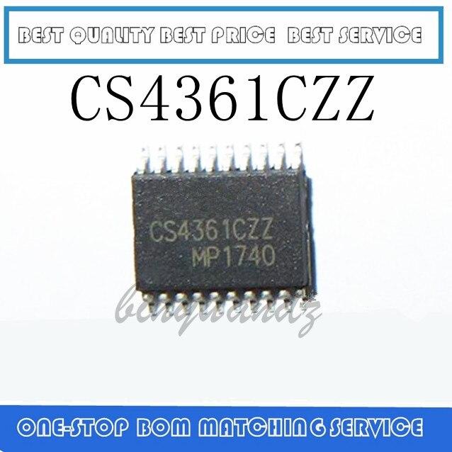 10PCS/LOT CS4361CZZ CS4361-CZZ TSSOP-20 Audio Processor Chip