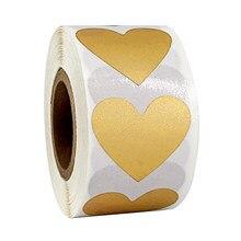 Pegatinas con forma de corazón para manualidades, 300 Uds./rollo, sortija de la Lotería portátil, billete divertido para álbum de recortes, etiquetas de papelería de actividad
