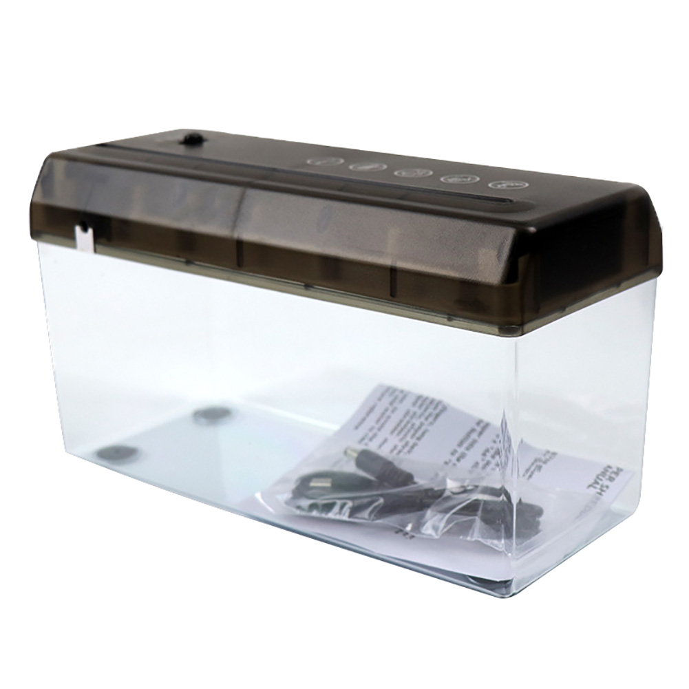 Small Durable Cutter USB A4 Paper Desktop Shredder ABS Dual Purpose Documents Office Automatic Electric Home