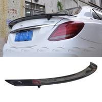 OLOTDI For Mercedes W205 RT Style Spoiler Carbon Fiber Back Rear Trunk Wing Spoiler For BENZ W205 4 Door|Spoilers & Wings|   -