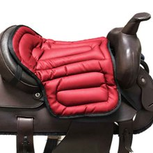 Saddle-Pad Horse-Riding Jumping Equestrian Seat-Cushion Shock-Absorption Training Wear-Resistant