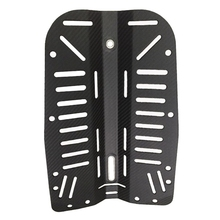 Carbon-Fiber Backplate Scuba-Diving with Hole-Center Dimension 28mm 11inch 30lbs-Wing