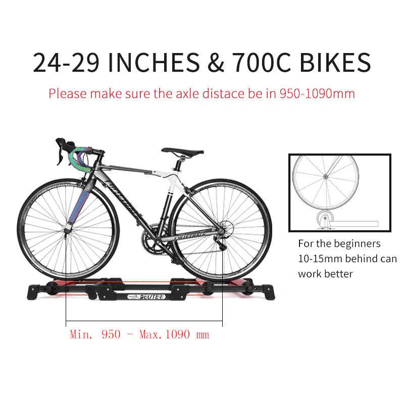 Bisiklet silindirleri kapalı egzersiz bisiklet Roller Trainer standı alüminyum alaşım MTB yol bisiklet ev bisiklet eğitimi 24-29 MTB