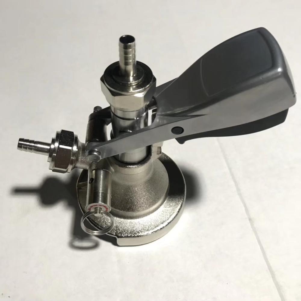 New Type A keg coupler Homebrew Beer Keg Tap beer faucet System  Coupler dispenser home brew bar accessories