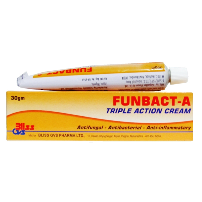 Funbact-A Triple Action Cream 30g