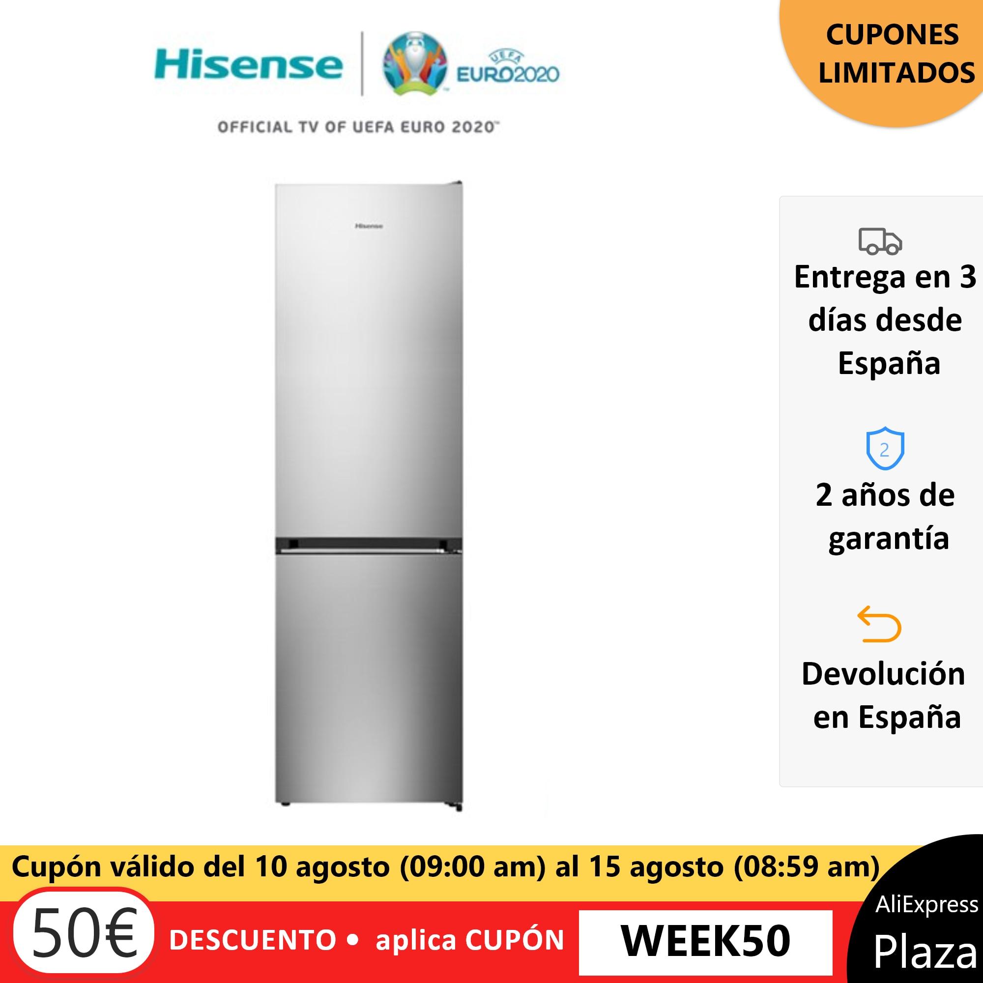 Hisense RB438N4EC3 réfrigérateur, réfrigérateur, 334 litres, No frost, classe A + +, compresseur inverseur, silencieux