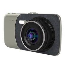 駆動レコーダー 2 レンズ 4 インチスクリーン車載カメラ反転画像ダッシュカムビデオ UY8