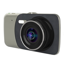 Driving Recorder 2 Lens 4 Inch Screen Vehicle Cameras Reversing Image Dash Cam Video UY8