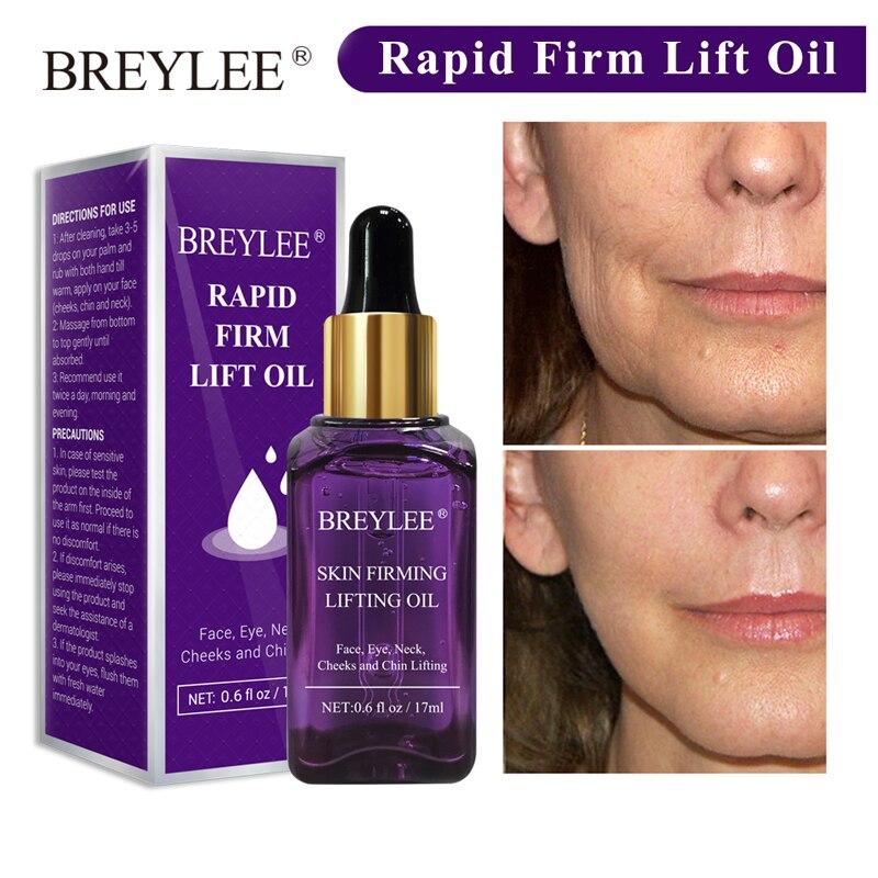 BREYLEE антивозрастной эфирное масло для лица быстрая укрепляющая подтяжка эссенция для лица удаление морщин уход за кожей лица создание v образной формы лица|Эфирное масло|   | АлиЭкспресс