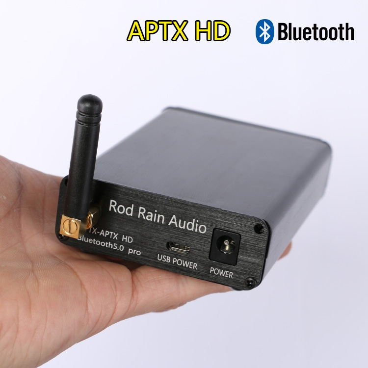 Lossless HIFI CSR8675 APTX HD Bluetooth 5.0 Wireless Receiver Adapter PCM5102A I2S DAC Decoding 24BIT TWS 3.5M RCA Output