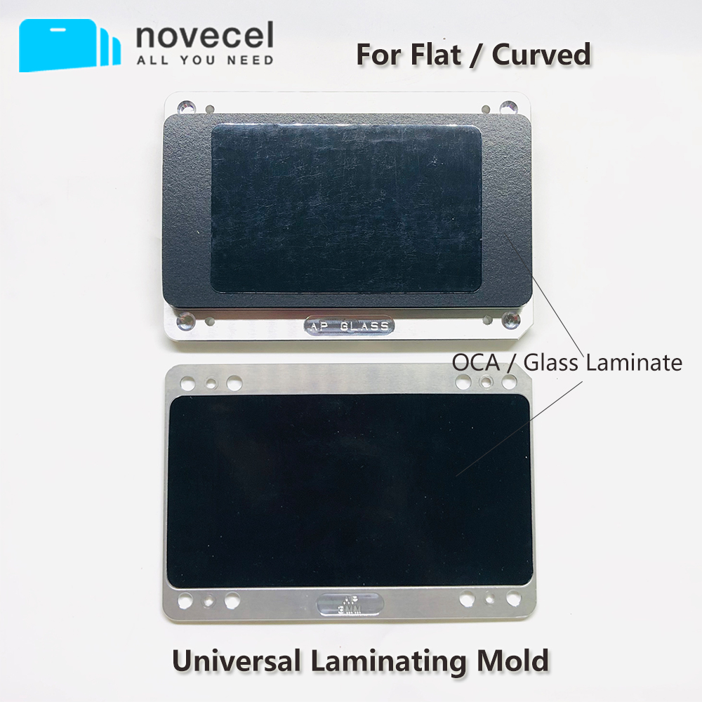 New Universal Laminating Mold For Flat Curved Screen Oca Film Laminating Mobile Phone Repair Tool Fit Novecel Q5 Ymj Laminator By Scientific Process