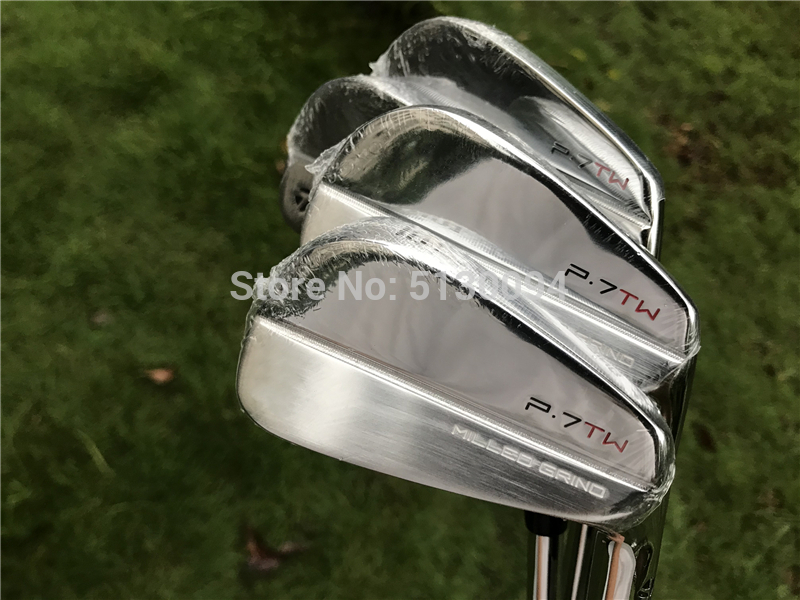 Tiger Woods P.7TW MILLED GRIND FOREGED Golf Clubs Iron Set 3-9P Steel Graphite Shaft Golf Forged Iron