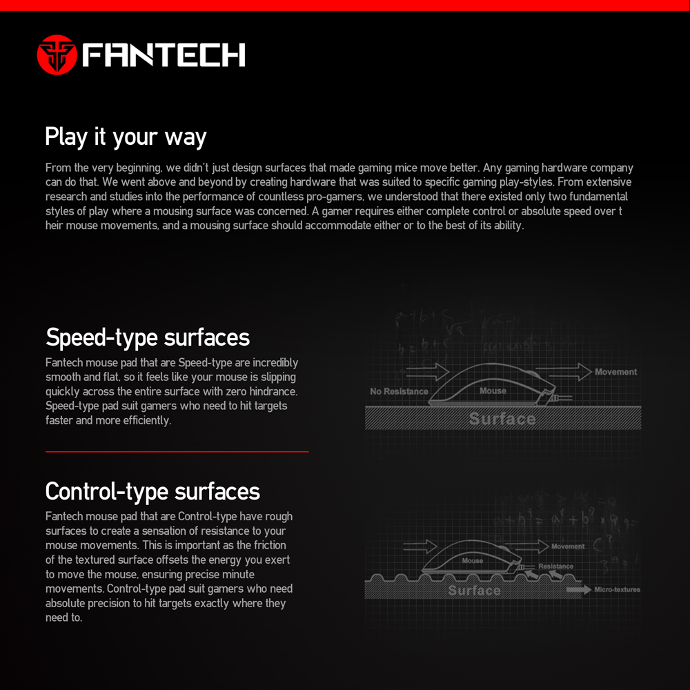 Image 5 - FANTECH MP25 Gaming Mouse Pad 25x21x0.02cm Anti slip Natural Rubber Mousepad Gamer Ultra smooth Cloth Surface  For FPS LOL Game-in Mouse Pads from Computer & Office