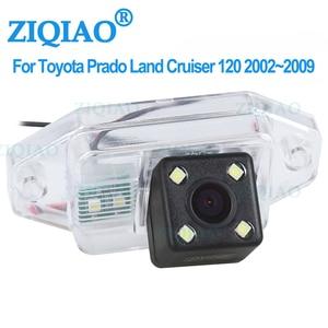 ZIQIAO for Toyota Land Cruiser 120 Series 2002-2009 Toyota Prado 2700 4000 Dedicated Reverse Rear View Camera HS041
