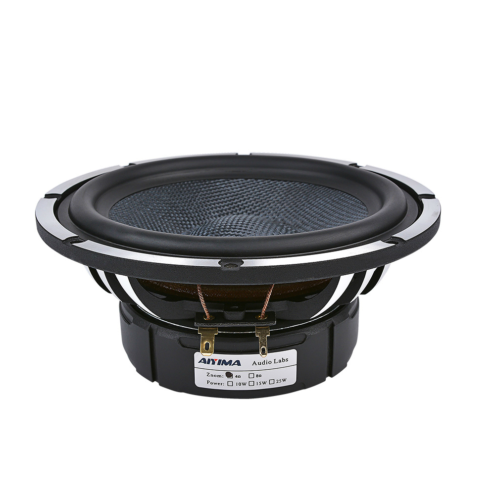 6.5 Inch Car Audio Midrange Bass <font><b>Speaker</b></font> 4 Ohm <font><b>50W</b></font> Woofer Loudspeaker for Home Theater & Car Sound System image
