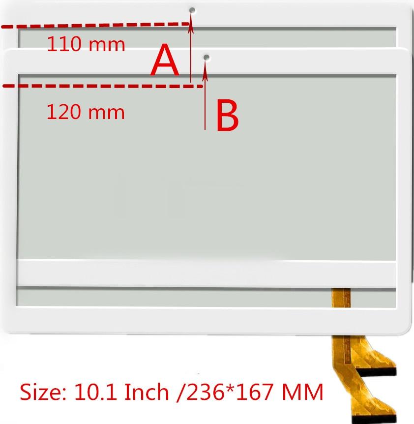 New 10.1 Inch KT107H P/N MF-879-101F MF-835-101F CH-1096A1-FPC276-V02 MJK-0607-V1 FPC MJK-0675 MJK-0767 Touch Screen XLD90