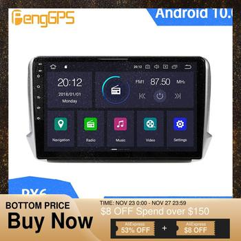 Android 10 Car DVD Player for Peugeot 2008 208 2011-2019 Touchscreen Multimedia Head Unit Auto Radio GPS Navi Mirror Link PX6 image