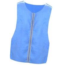 Cool Clothes Cooling Vest Ice Vest For Outdoor Summer (Sky-blue)