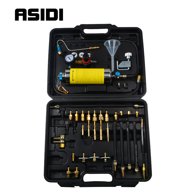 Fuel Injector Cleaner Non-Dismantle EFI Throttle Washing Tool Kit Gasoline Car Service Nozzle Autoservice Cleaning
