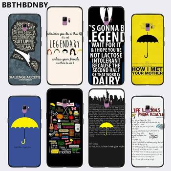 how i met your mother himym DIY phone Case cover Shell For Samsung S6 S7 edge S8 S9 S10 e plus A10 A50 A70 note8 J7 2017 image