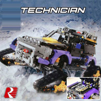 Classic Car Styling Toy for Children Technic Series The Extreme Adventure Model boy Building Block Set Compatible 42069 20057