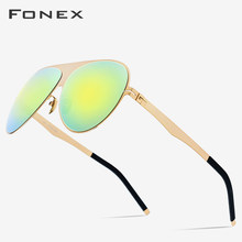 Aviation Polarized Sunglasses Men 2019 New High Quality Brand Designer Oversize Coating Sun Glasses for Men with Nylon Lens 856(China)