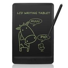 ЖК-планшет для письма 10 дюймов цифровой электронный альбом для рисования для детей портативный многоразовый стираемый доска для сообщений школьная офисная памятка