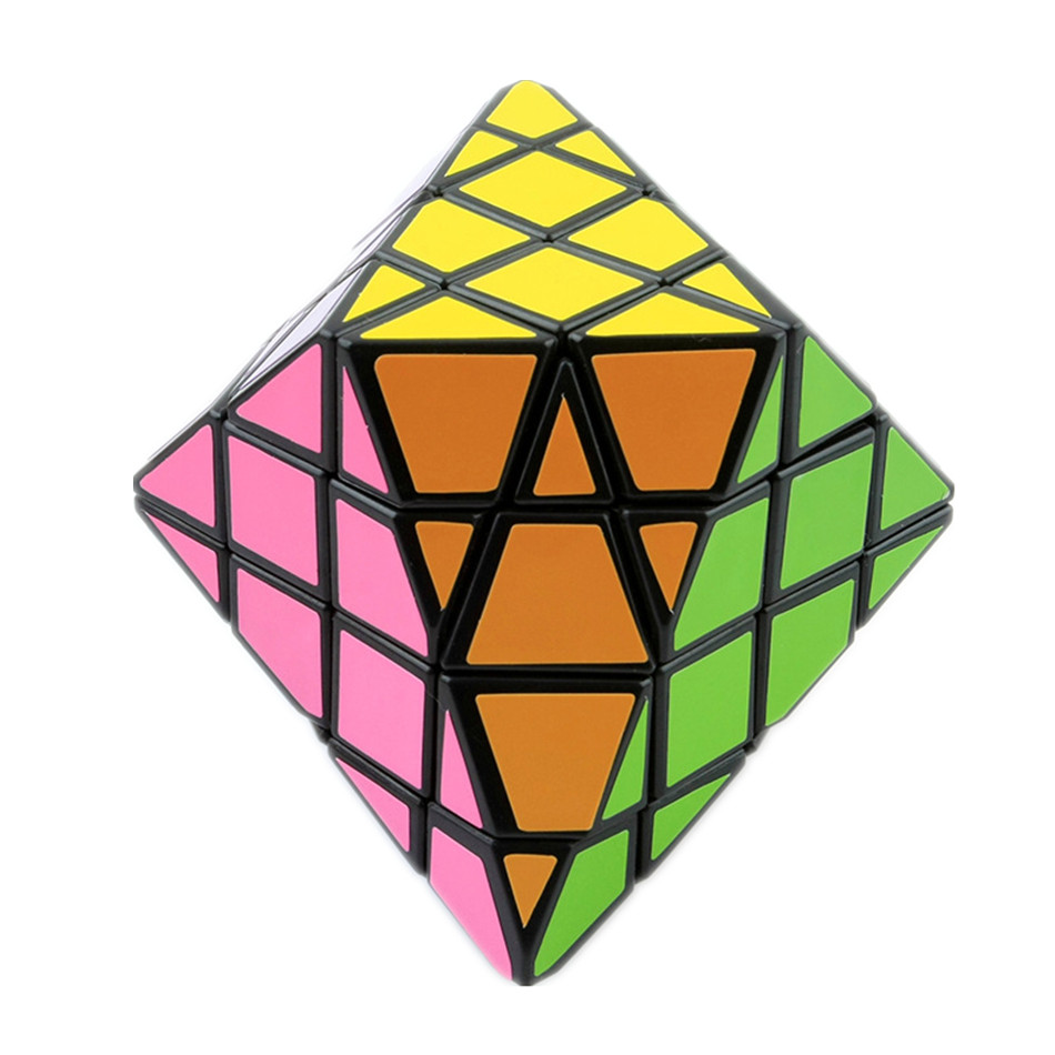 Diansheng 8-corner-only Octagonal Pyramid Dipyramid 4×4 Shape Mode Magic Cube Puzzle Toys for Kids Educational toys img5