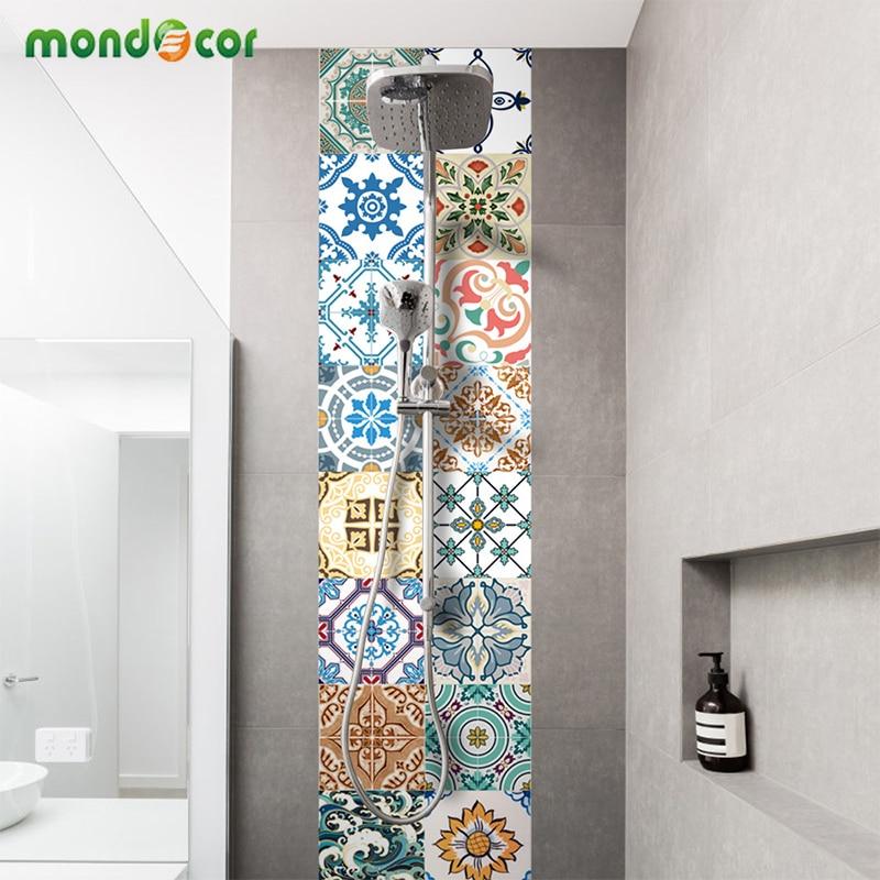Creative Self Adhesive PVC Tile Wallpaper For Bedroom Waterproof Contact Paper Art Diagonal Floor Stickers DIY Home Decor Mural