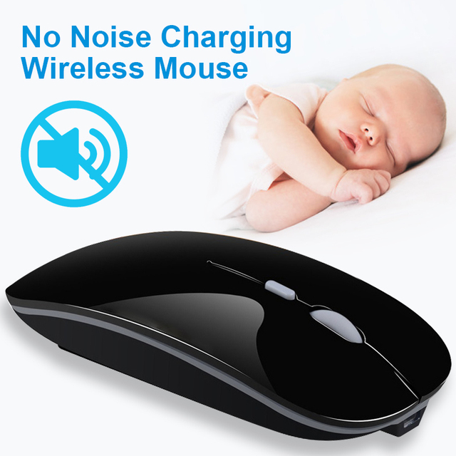 Silent Wireless USB Mouse 3