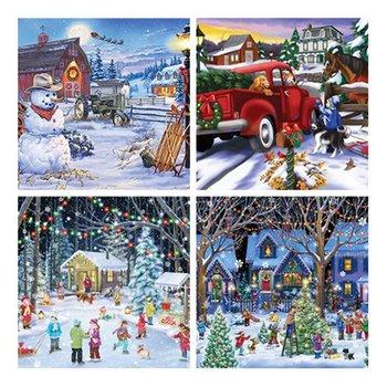 Motyw świąteczny Puzzle Jigsaw s 1000 Piece Puzzle duże Puzzle Jigsaw dla dorosłych Puzzle dla dzieci gry świąteczne prezenty edukacyjne tanie i dobre opinie OCDAY CN (pochodzenie) Unisex Dorośli 12-15 lat 8-11 lat Papier COMMON Krajobraz None 1000pcs set * Christmas puzzle