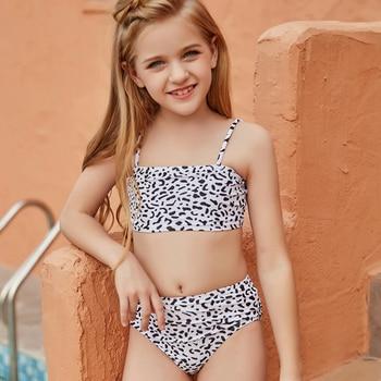 Mädchen Bikini 5- 15 Jahre Kinder Strand Bademode Badeanzug Kinder Bademode Teenager 1