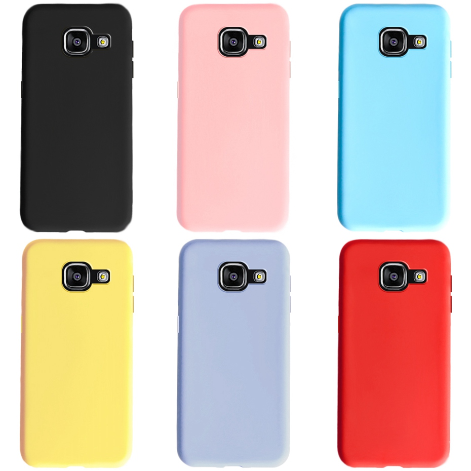 <font><b>For</b></font> <font><b>Samsung</b></font> A5 2016 <font><b>2017</b></font> <font><b>Case</b></font> Soft Colored Silicone Phone <font><b>Case</b></font> <font><b>for</b></font> <font><b>Samsung</b></font> <font><b>Galaxy</b></font> <font><b>A</b></font> <font><b>5</b></font> A5 2016 <font><b>2017</b></font> A510F A520F Cover Fundas <font><b>Case</b></font> image