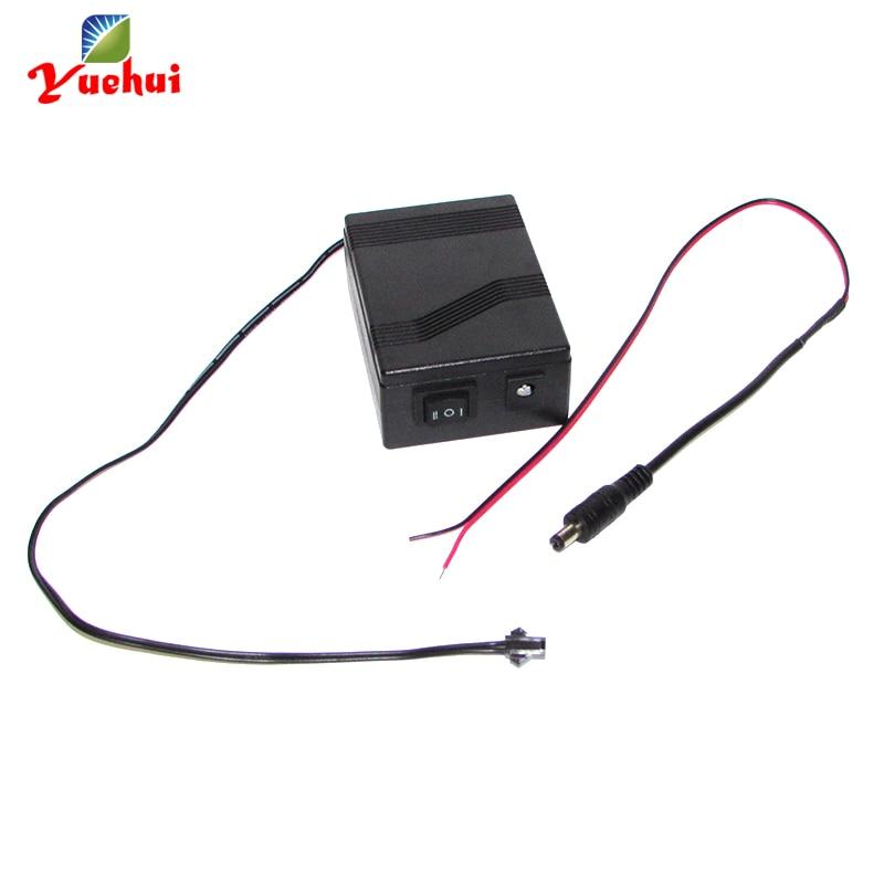 Hot Sales 12V 1-30Meter EL Wire Driver EL Inverter For Loading 1-30Meters EL Wire For Holiday Lighting Decoration